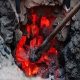 Barras de aço forjado